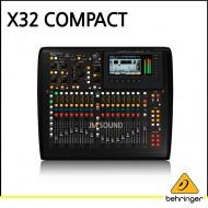 X32 COMPACT/40입력/16프로그래밍 가능한 MIDAS Preamps/25버스 디지털 믹싱 콘솔/17자동 페이더, 채널 LCD/FireWire/