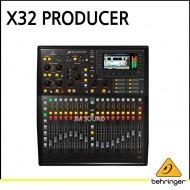 X32 PRODUCER/40입력/16프로그래밍 가능한 MIDAS Preamps/25버스 랙마운트형 디지털 믹싱 콘솔/17 자동 페이더, FireWire