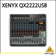 QX2222USB/프리미엄 22입력 3/2버스 믹서, 제닉스 마이크 프리앰프, 컴프레셔, KLARK TEKNIK 멀티 FX 프로세