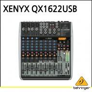 QX1622USB/프리미엄 16입력 2/2버스 믹서, 제닉스 마이크 프리앰프, 컴프레셔, KLARK TEKNIK 멀티 FX 프로세
