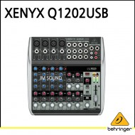 Q1202USB,프리미엄 12입력 2버스 믹서, 제닉스 마이크 프리앰프, 컴프레셔, 브리티쉬 EQ와 USB,오디오 인터페이스