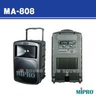 MA-808 /충전식,무선마이크2개사용,CD플레이어장착,500와트