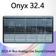 Onyx32.4/32채널 4-bus 프리미엄 SR 콘솔
