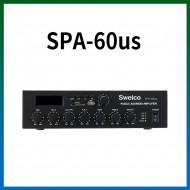 SPA-60US/USB/SD Card/라디오/마이크1,2/마이크1뮤트기능/AUX1,2/라인출력/60와트