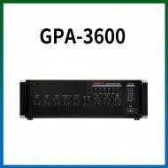 GPA-3600/마이크1,2,3,4,/마이크1뮤트기능/AUX1,2/라인출력/챠임,싸이렌/펜텀파워/5회로셀렉터/AC,DC24V겸용/360와트