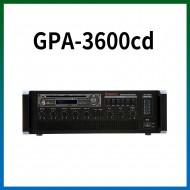 GPA-3600CD/CD/USB/SD Card/라디오/카셋트/마이크1,2,3,4,/마이크1뮤트기능/AUX1,2/라인출력/챠임,싸이렌/펜텀파워/5회로셀렉터/AC,DC24V겸용/360와트