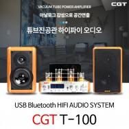 CGT/T-100+H100/진공관앰프+하이파이스피커시스템